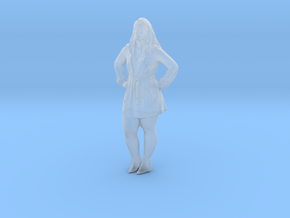 Printle C Femme 373 - 1/35 - wob in Smooth Fine Detail Plastic