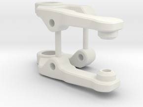 Kyosho MR-03 Wide Front suspension Arms in White Natural Versatile Plastic