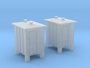 N signal relay box 2pcs in Smooth Fine Detail Plastic