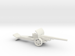 15cm kanone 16 krupp 1/72 ww1 & ww2 Artillery in White Natural Versatile Plastic