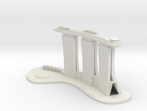Marina Bay Sand - Sky Park (Test Acc) in White Natural Versatile Plastic