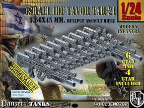 1/24 Tavor Ctar-Gtar Set101 in Smooth Fine Detail Plastic