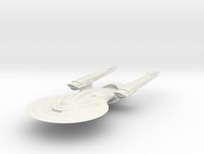 Federation SamYork Class IV HvyCruiser in White Natural Versatile Plastic
