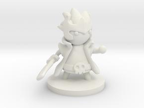 Warlock (Beta) in White Natural Versatile Plastic