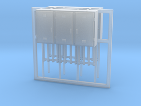 SJ Signalverteiler 3Türig linksanschlag 2erSet - T in Smooth Fine Detail Plastic