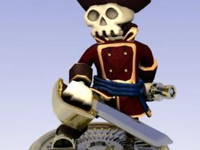 Captain Skully in Full Color Sandstone
