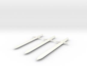 JanembaSword in White Processed Versatile Plastic