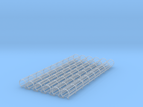 Ladder Cage Full 6pc in Smooth Fine Detail Plastic