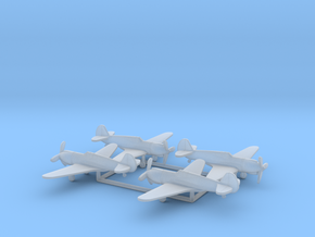 Curtiss XP-42 in Smooth Fine Detail Plastic: 1:350