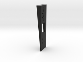 Siding Wedge for Ring Doorbell Pro 70 Degree Wedge in Black Natural Versatile Plastic