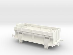 Ot03 Scale Version 2 Scale TT1/120 in White Processed Versatile Plastic