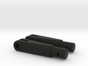 Stock hinge (2x) AGM MP40  in Black Natural Versatile Plastic