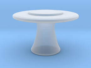 Miniature Katoucha Center Table - Jacques Garcia in Smooth Fine Detail Plastic: 1:48 - O