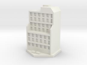 Bloque pisos 4 in White Natural Versatile Plastic