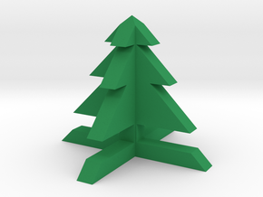 1x1 Tree in Green Processed Versatile Plastic