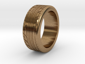 Tire ring 17.3mm request in Natural Brass