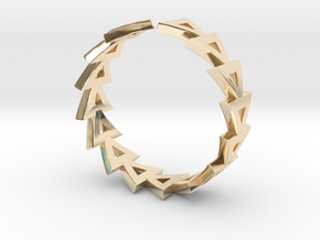 Life Ring in 14K Yellow Gold: Small