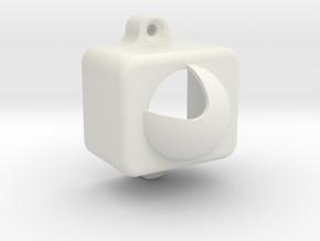 PIR Case for HC-SR501 in White Natural Versatile Plastic