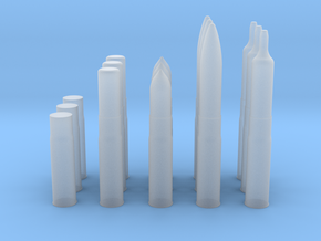 75mm Sherman tank shell in Smooth Fine Detail Plastic
