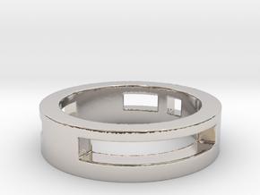 suka Ring Size 7 in Platinum