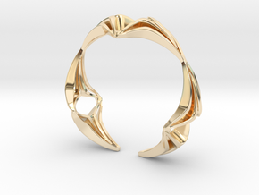 Youniq Edge Bracelet  in 14K Yellow Gold: Extra Small