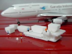 Airport GSE 1:400 Container Loader  in White Natural Versatile Plastic