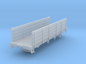 HOn3 25 foot Pipe Gondola in Smooth Fine Detail Plastic