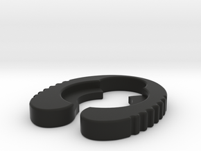 Genoa 20mm - Atty Gripper in Black Natural Versatile Plastic