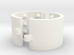 Kalis Grip 40/6/03 - 5 Rows in White Processed Versatile Plastic