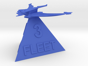 Son'a - Fleet 3 in Blue Processed Versatile Plastic