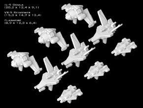 (Armada) SWTOR Fighter Set VI in Smooth Fine Detail Plastic