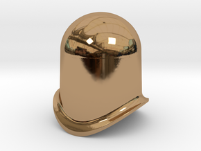 L&B-style dome to fit 16mm-scale locomotives in Polished Brass