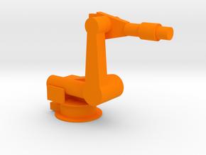 4-Axis Industrial Robot V03 in Orange Processed Versatile Plastic