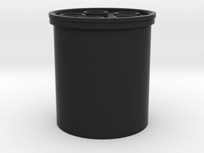 """Yoda blade plug 1"""" in Black Premium Versatile Plastic"""