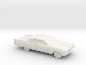 1/87 1964 Buick Electra Coupe in White Natural Versatile Plastic