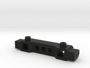 TRX4 Bumper Mount ZeroH ZeroV in Black Natural Versatile Plastic