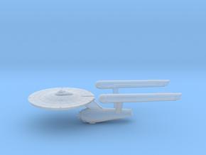 3788 Scale Franz Joseph Federation Heavy Cruiser in Smooth Fine Detail Plastic