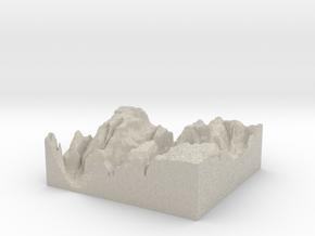 Model of The Organ in Natural Sandstone