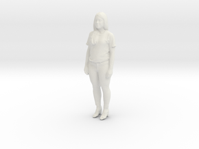 Printle C Femme 407 - 1/32 - wob in White Natural Versatile Plastic
