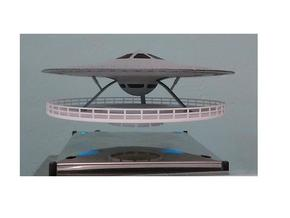 54 Electric Turbine Powered Saucer -6 in White Natural Versatile Plastic