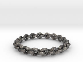 Ocean Breeze Bracelet in Polished Nickel Steel