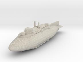 Airship Battlecruiser in Natural Sandstone