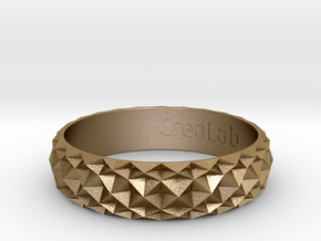 Bracelet HJIK in Polished Gold Steel