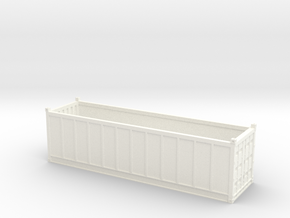 H0 TIPES 30ft Coil Container in White Processed Versatile Plastic