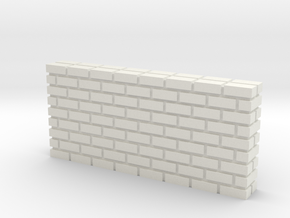 Waffle House Brick Divider HO 87:1 Scale in White Natural Versatile Plastic