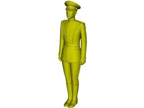1/32 scale USSR & Russian Army honor guard soldier in Smooth Fine Detail Plastic