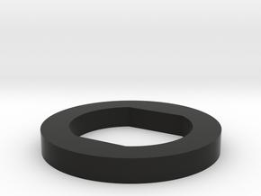 KJW KC02 End Barrel Spacer in Black Natural Versatile Plastic