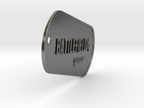 BF4 Gamer Dog Tags in Polished Silver