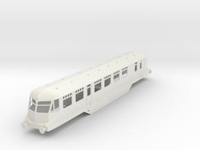 0-43-gwr-railcar-19-33-1a in White Natural Versatile Plastic