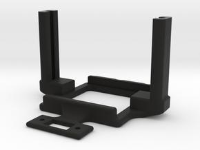 Mamba Monster X Mount ultra slim in Black Premium Versatile Plastic
